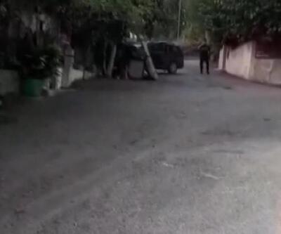 Son dakika.. Eşinin sığındığı baba evine aracıyla defalarca çarptı
