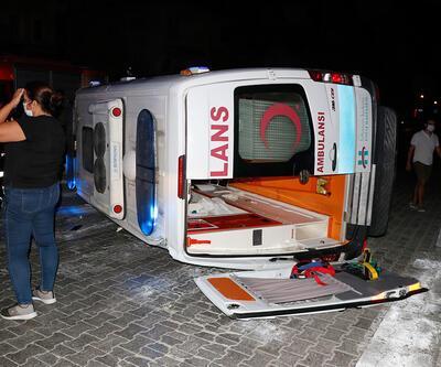 Son Dakika Haberler... Muğla'da ambulansla hafif ticari araç çarpıştı 6 kişi yaralandı