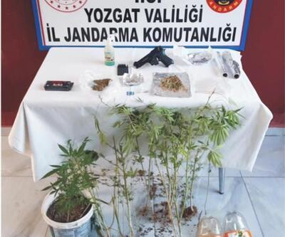 Yozgat'ta uyuşturucuya 1 tutuklama