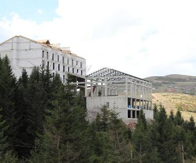 Türkiye'nin sahile en yakın kayak tesisi, sezona hazırlanıyor
