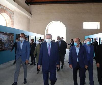 Son dakika..  Cumhurbaşkanı Erdoğan Tersane İstanbul'u ziyaret etti