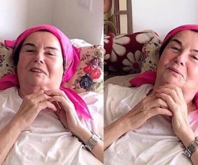 Beyin ameliyatı geçiren Fatma Girik'ten haber var