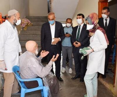 Hilvan'da 1200 yaşlı ve engelliye evde bakım hizmeti