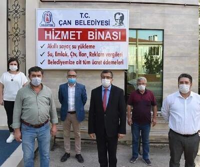 Çan Belediyesi Ek Hizmet Binası açıldı