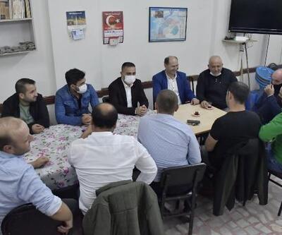 Başkan Erdoğan, esnafların çay davetini geri çevirmedi