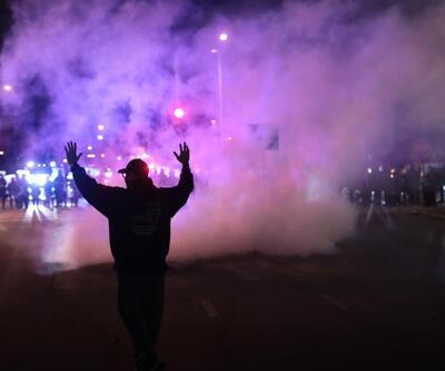 ABD'de polis şiddeti karşıtı protestoda 28 gözaltı