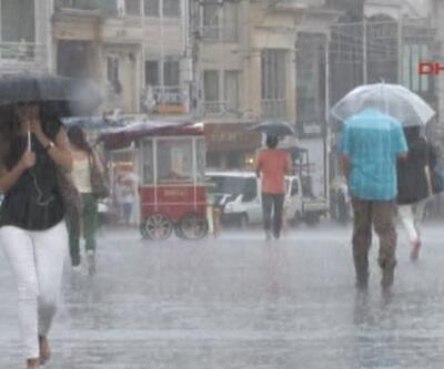 Son Dakika Haberi... Sağanak yağmur ve fırtına... AKOM, İstanbul ve çevresi için uyardı | Video