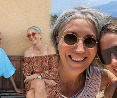 Ümran Seyhan ile Serenay Sarıkaya'dan anne-kız pozu