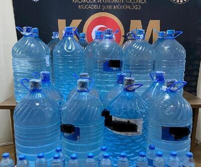 Malatya'da 447 litre sahte içki ele geçirildi