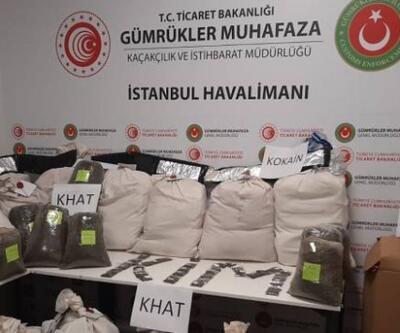 İstanbul Havalimanı'nda 420 kilogram uyuşturucu yakalandı | Video