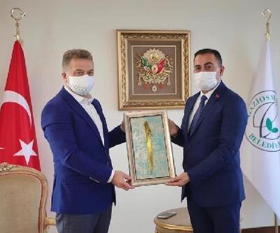 Biga Belediye Başkanı Erdoğan'dan, belediye başkanlarına ziyaret