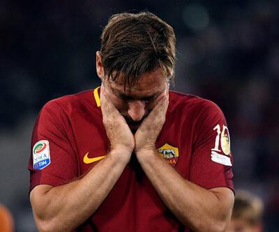 Totti'den babasına duygusal veda