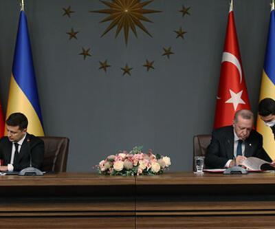 Son dakika haberi... Cumhurbaşkanı Erdoğan ve Zelenskiy'den açıklamalar! İmzalar atıldı