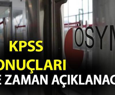 KPSS önlisans sonuçları ne zaman açıklanacak? ÖSYM 2020 KPSS sonuçlarını açıkladı mı?