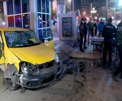 Ankara'da zincirleme 'ışık ihlali' kazası: 3 yaralı