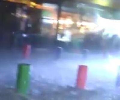 Ankara'da fırtına, yağmur ve dolu etkili oldu