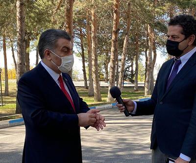 Sağlık Bakanı Dr. Fahrettin Koca, 5N1K'da Cüneyt Özdemir'in sorularını yanıtladı