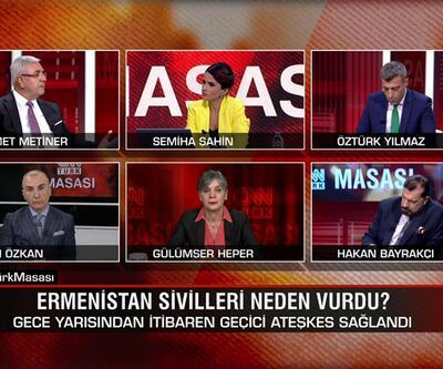 Erivan Nahçıvan'a neden saldırdı? Ateşkese neden uymuyor? Amaç Türkiye'yi savaşa çekmek mi? CNN TÜRK Masası'nda tartışıldı
