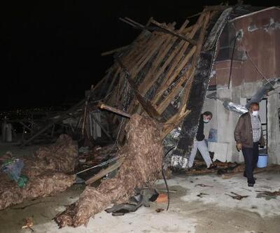 Son dakika haberler... Ankara'da dolu ve fırtına | Video