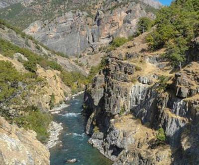 Amerika'da bulunan Colorado Nehri'ne benzetiliyor!