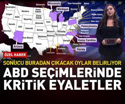 ABD seçimlerinde kritik eyaletler