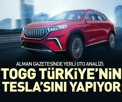 TOGG Türkiye'nin Tesla'sını yapıyor