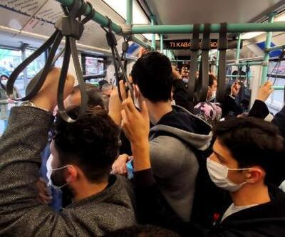 Bağcılar-Kabataş tramvayında dikkat çeken yoğunluk