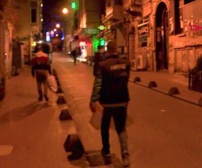 Beyoğlu'nda 57 adrese baskın düzenlendi, uyuşturucu ağı çöktü | Video