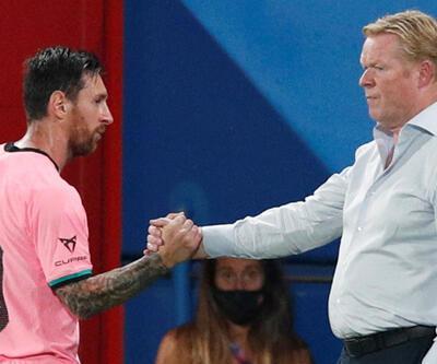 Ronald Koeman: Messi daha iyi olabilir