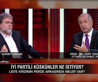 İYİ Parti İstanbul Milletvekili Ümit Özdağ, liste krizinin perde arkasını Tarafsız Bölge'de anlattı