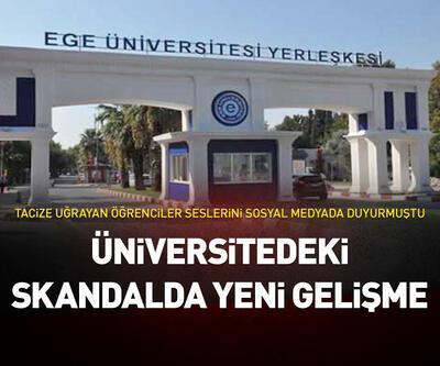 Üniversitedeki taciz skandalında flaş gelişme