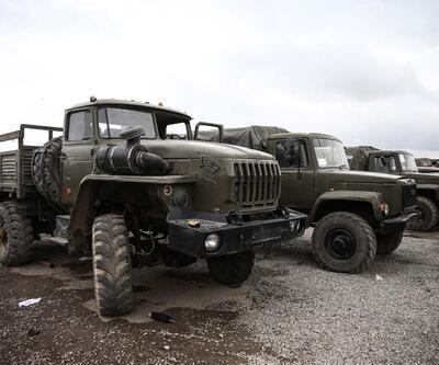 İşte Azerbaycan'ın Ermenistan'dan ele geçirdiği askeri araçlar