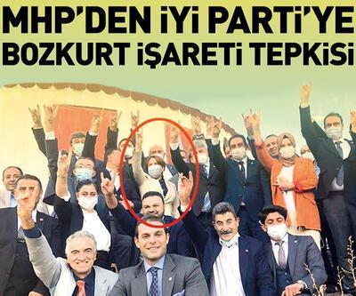 MHP'den İYİ Parti'ye bozkurt işareti tepkisi