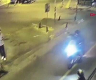 Tribün liderine saldırı anı kamerada   Video