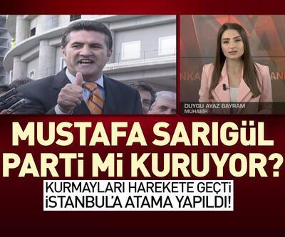 Mustafa Sarıgül parti mi kuruyor?