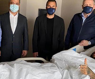 Başakşehirli Junior Caiçara ameliyat oldu
