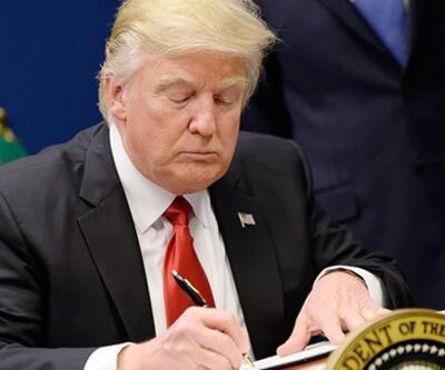 Son dakika haberi... Trump imzayı attı! Listeden çıkarıldı