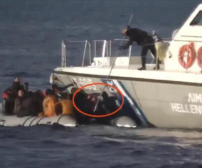 Ege'de yaşanan zulmün görüntüsü! Video