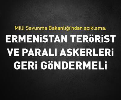 Ermenistan terörist ve paralı askerleri geri göndermeli