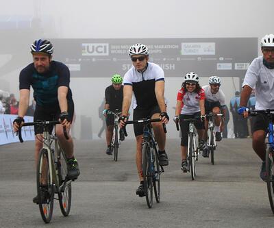 Dağ bisikleti maratonu Sakarya'da başladı | Video