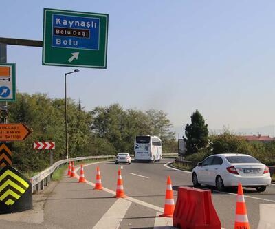 Bolu Dağı tünelleri, trafiğe kapatıldı