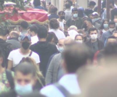 İstiklal Caddesi yine kalabalık | Video