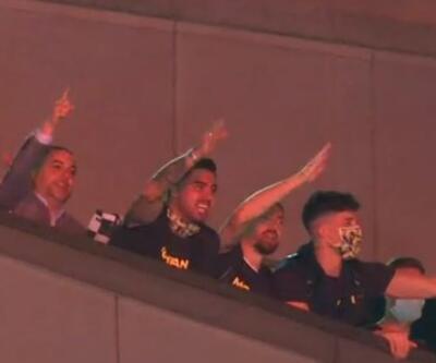 Fenerbahçe galibiyeti böyle kutladı