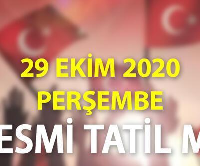 Cumhuriyet Bayramı resmi tatil mi? 28-29 Ekim 2020 Çarşamba ve Perşembe tatil olacak mı?