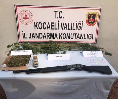 Gölcük'te uyuşturucu operasyonu: 3 gözaltı