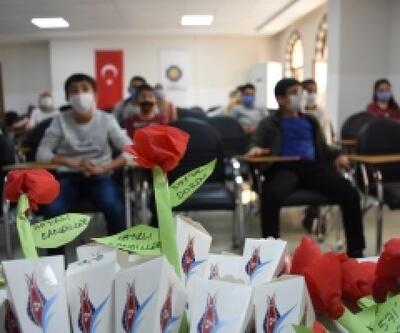 Bilgi Evi öğrencileri Mevlid Kandili'ni kutladı