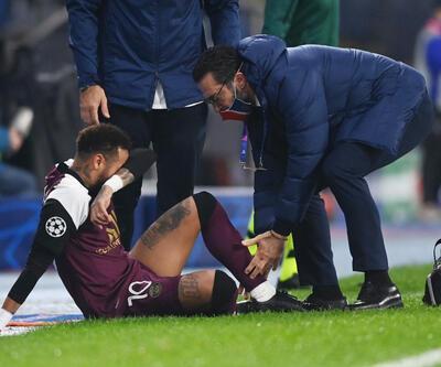 Neymar İstanbul'da sakatlandı