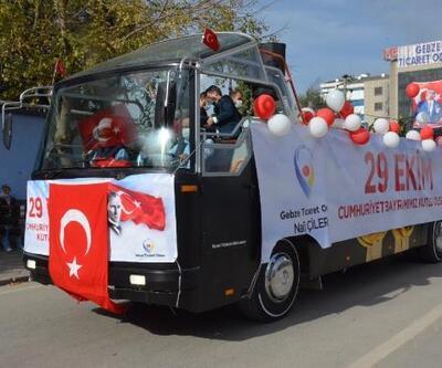 Gebze'de 29 Ekim Cumhuriyet Çoşkusu