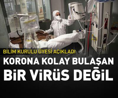Korona kolay bulaşan bir virüs değil