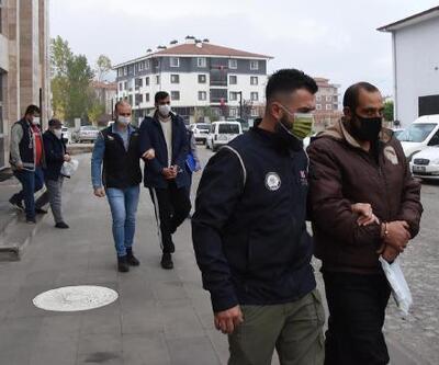 Yakalanan 4 DEAŞ şüphelisi adliyeye sevk edildi